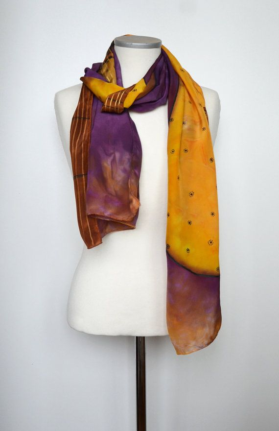 Cashmere Silk Scarf - My Everlasting Love - 4 by VIDA VIDA jHRhuA