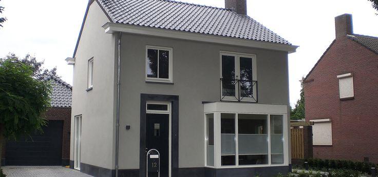 25 beste idee n over jaren 50 huis op pinterest jaren 50 decor familie badkamer en vintage - Huis exterieur model ...