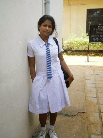 Sri Lanka - School Girls  School Girl  Tops, Fashion -2283