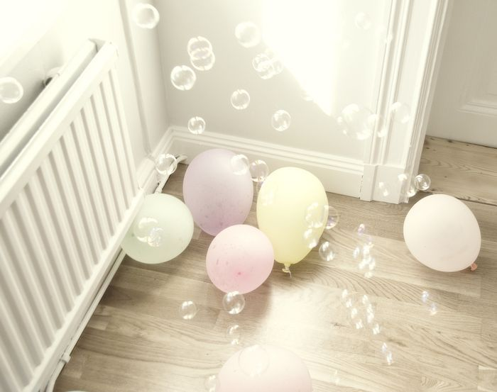 ... and balloons
