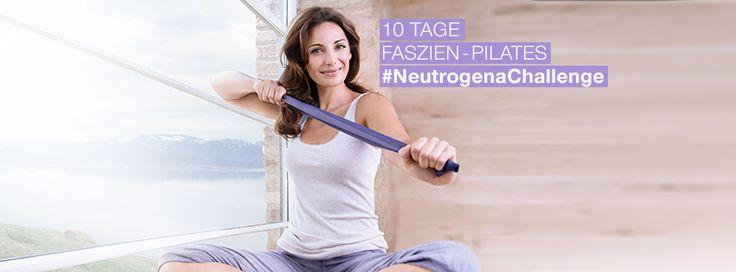 Jetzt mitmachen und fit werden! www.neutrogena.de/neutrogenachallenge #NeutrogenaChallenge #NeutrogenaDeutschland #Neutrogena #Pilates #Faszienpilates #Challenge