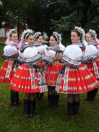 Kyjov folk costum; Parádní kroj s drůžením