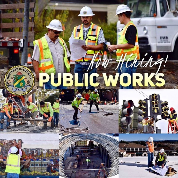 Join our team! City of Monterey Public Works Department is
