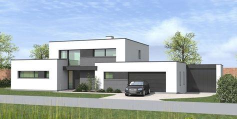 Maison cubique à Toufflers dans le Nord   maison en 2019   House ...