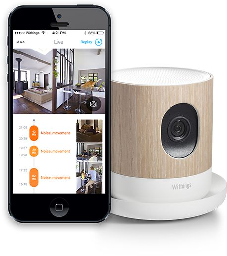 """""""Withing's Home is a video monitoring solution that can be used for security""""; it also features environmental sensors, HomeKit integration, and will definitely give Canary a run for its money."""