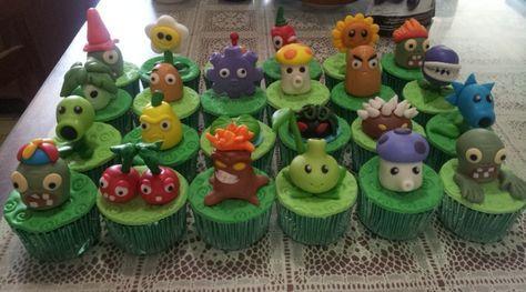 emily bakes cakes: Plants vs Zombies Cupcakes
