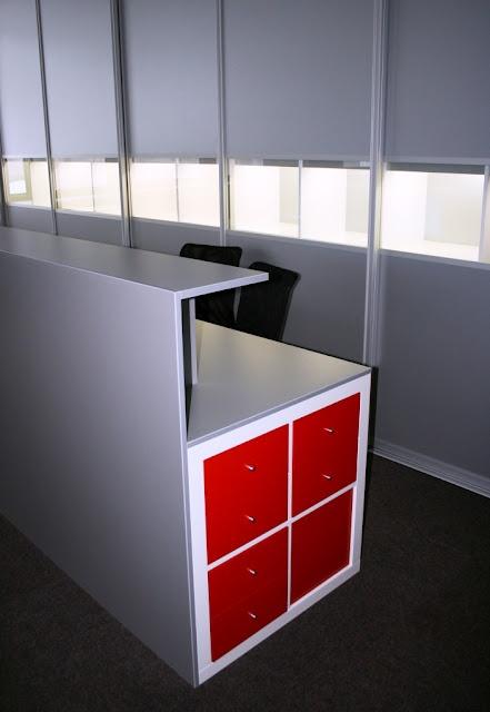 Reception Desk Ikea Hackers Lovely Shop Style