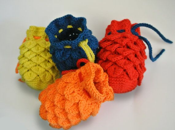 Dragon Dice Bag Crochet Pattern : 1000+ images about knit crochet on Pinterest Free ...