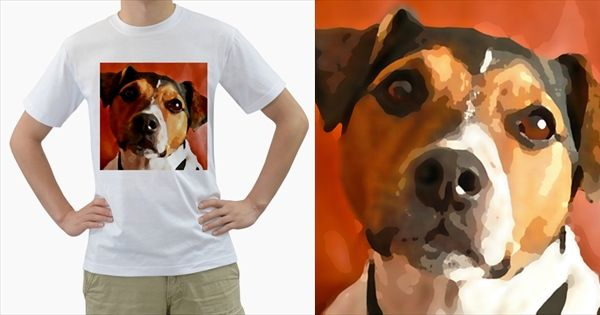 Jack+Russell+Terrier+Men's+T-Shirt+(White)+