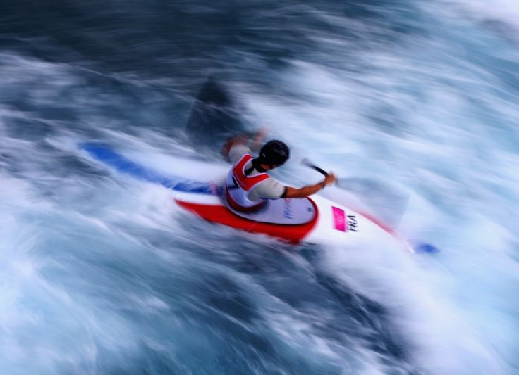 Get ready for white-knuckle drama on the whitewater rapids. Inspired by slalom skiing, this sport has been in the Games since Munich 1972. Competitors navigate the course on board kayaks or canoes, in singles or doubles events.