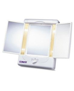 Mother's Day List, For the Beauty Obsessed Mom: Conair Lighted Panel Mirror #mothersdaygiftideas
