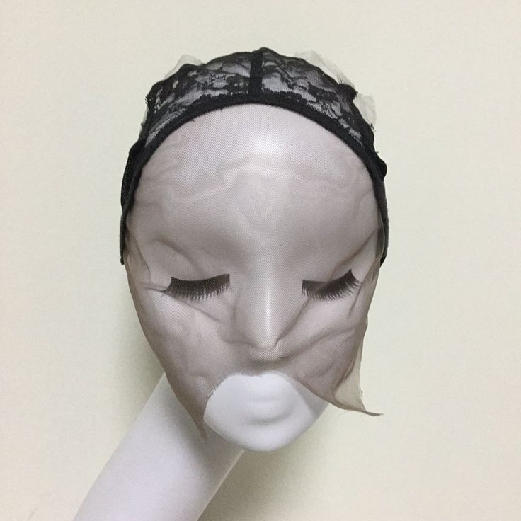 Mesh Front Glueless Lace Wig Cap For Making Wigs With Adjustable Straps Weaving Caps For Women Hair & Hairnets Easycap  6018