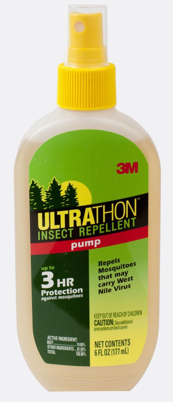 Ultrathon Insect Repellent, 6 oz. spray pump of Deet insect repellent.