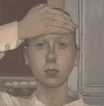 Alison Watt, Self Portrait, 1986…7 Scottish National Portrait Gallery, © Alison Watt / Photo: Antonia Reeve