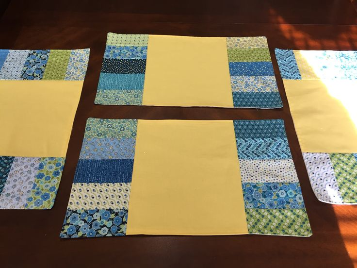 Spring Placemats, Yellow Placemats, Floral Placemats, Spring Table Setting, Spring Decor, Custom Placemats, Colorful Prints by SewWhatbyMindyKay on Etsy