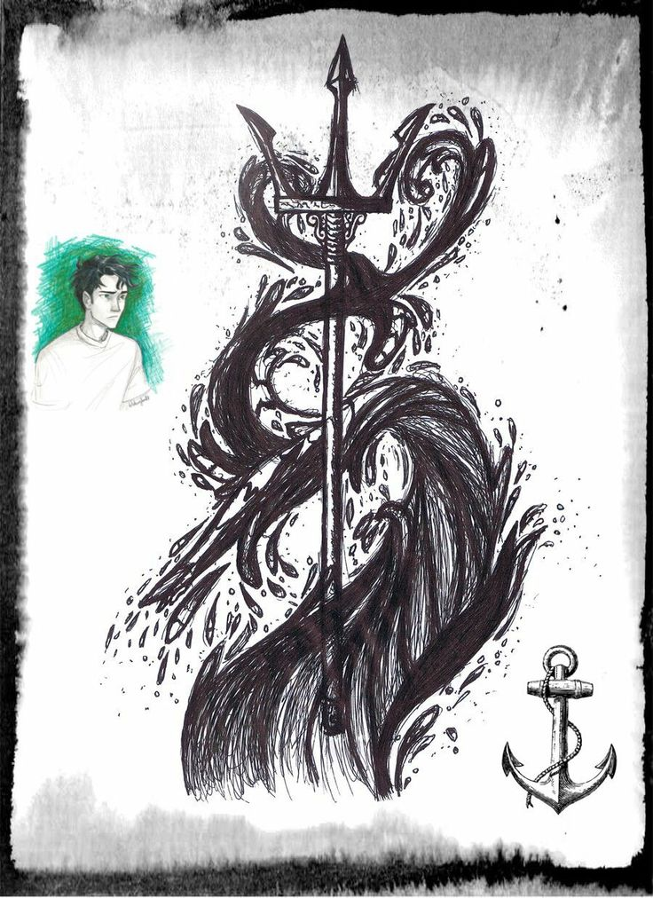 Nautical Tattoo Poseidon And Ship: 7 Best Images About Cool Anime Images On Pinterest