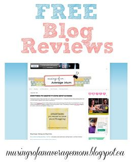 Check out this blog review from various bloggers and add your blog url to get a free blog review!
