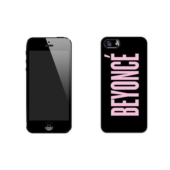 Beyonce Album Art iPhone 4/4s 5/5s 5c* Black Rubber Case