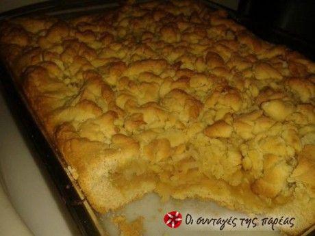 Μία πανεύκολη, πεντανόστιμη μηλόπιτα, που μου έδειξε ένας καλόγερος. Από τότε που την δοκίμασα δεν ξαναέκανα καμία άλλη συνταγή! Δοκιμάστε την και δεν θα χάσετε!