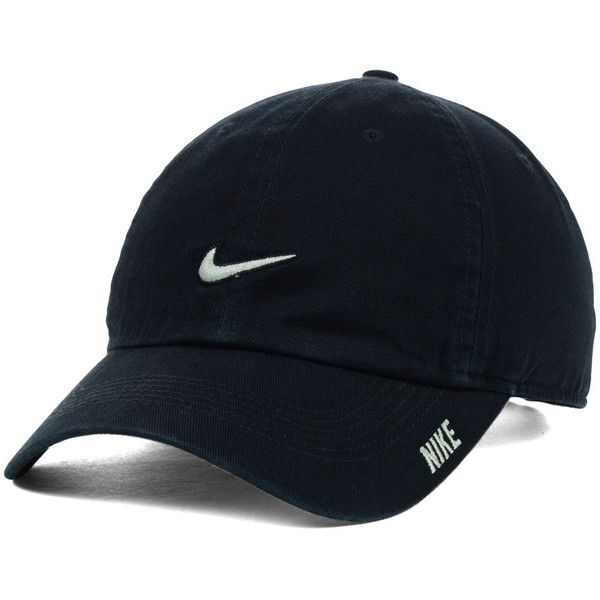 Nike Phillip Cap II ($22) ❤ liked on Polyvore featuring accessories, hats, bills hats, nike, long bill hat, low crown cap and low crown hats