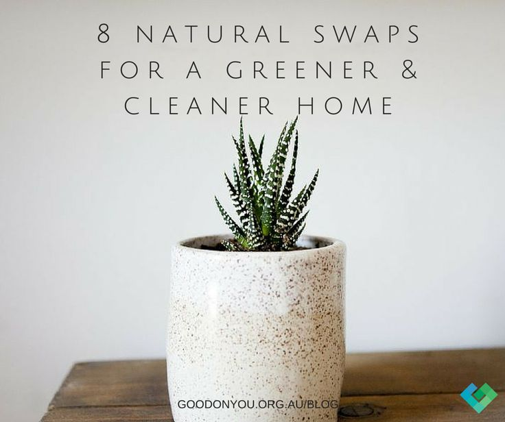 Make your home clean and green with these simple swaps. http://goodonyou.org.au/8-natural-alternatives-for-a-greener-and-cleaner-home/