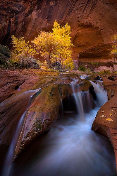 Southwest waterfall