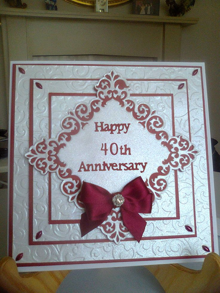 Ruby Wedding Anniversary Gift For Parents Uk : ... wedding anniversary gift ideas, Parents anniversary gifts and Parents