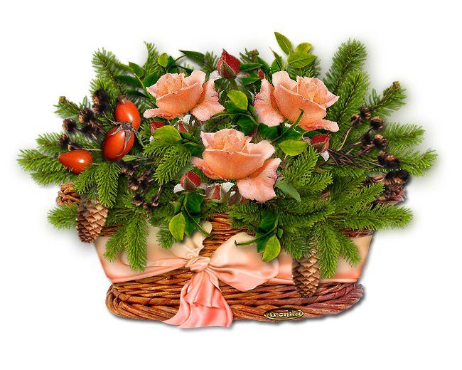 Dekorace DUŠIČKOVÁ v košíčku nebo jiné nádobě | Tvoření