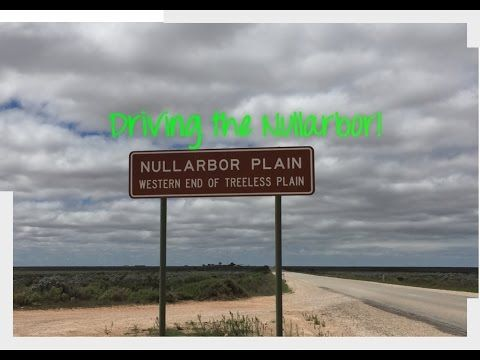 Drive the Nullarbor Plain - YouTube