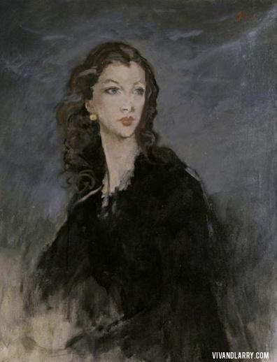 Augustus John (Welsh, 1878-1961) - Vivien Leigh