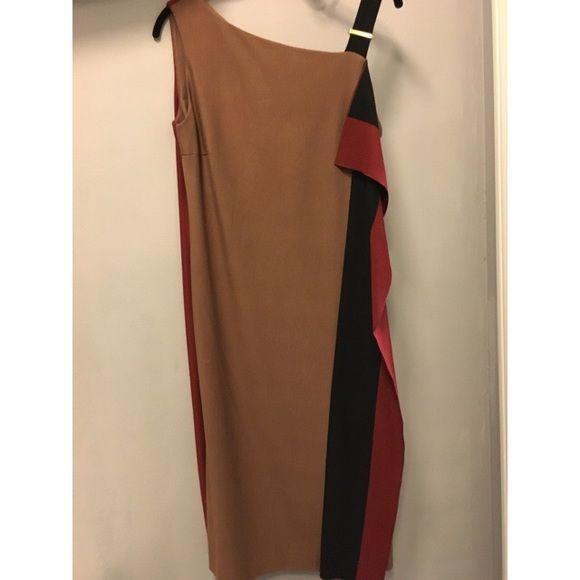 Beautiful Escada dress Gorgeous Escada dress just worn 1 time in greag condition Escada Dresses Midi