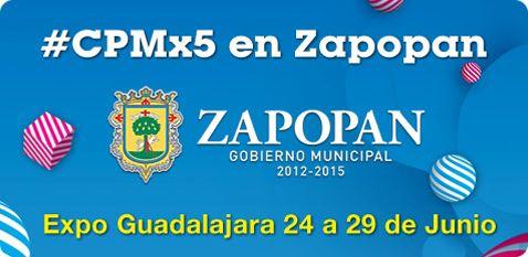 Campus Party México 2014 se llevará a cabo del 24 al 29 de junio en Expo Guadalajara, en Zapopan Jalisco.