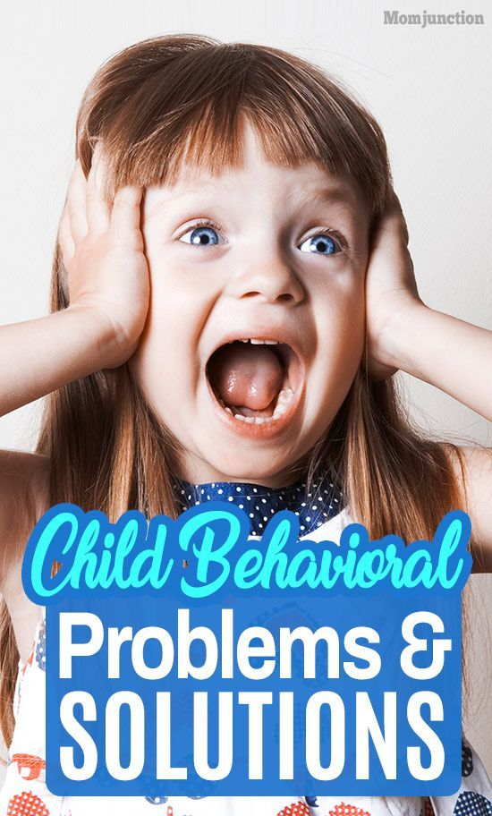 8 Types Of Child Behavioral Problems And Solutions | Child ...