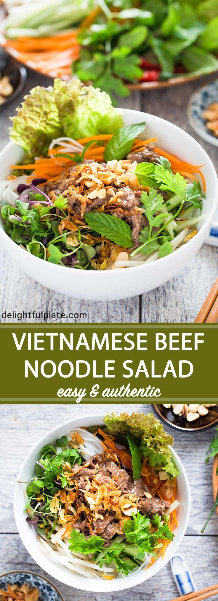 The 25+ best Vietnamese noodle salad ideas on Pinterest ...
