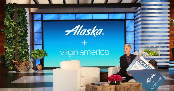 Ellen TV - Win Round Trip Tickets on Alaska & Virgin America - http://sweepstakesden.com/ellen-tv-win-round-trip-tickets-on-alaska-virgin-america/