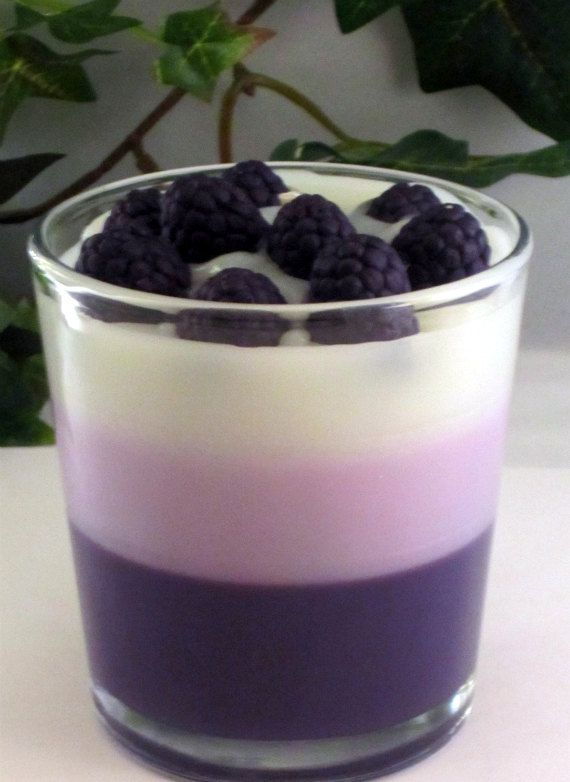 Blackberry Vanilla - Purple n White Temptations by Remya Hariharan on Etsy