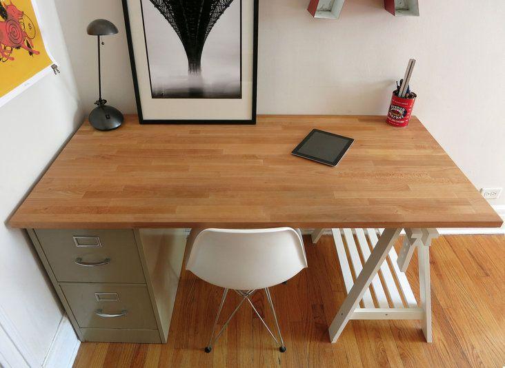The 25+ best Butcher block desk ideas on Pinterest | Desk ideas ...