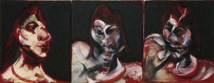 Three Studies for the Portrait of Henrietta Moraes - Francis Bacon (artist) - Wikipedia, the free encyclopedia