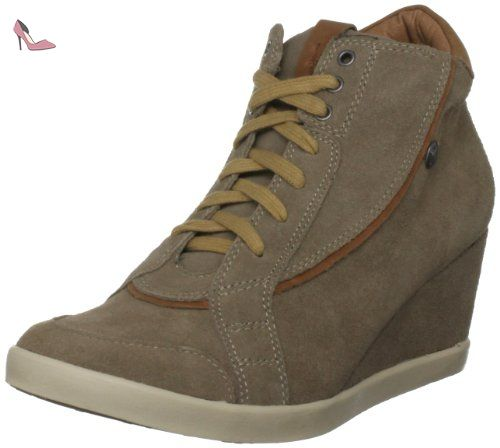 Pepe Jeans  Russel Taupe Ankle , Bottes femme - Taupe-V.5, 40 - Chaussures pepe jeans (*Partner-Link)