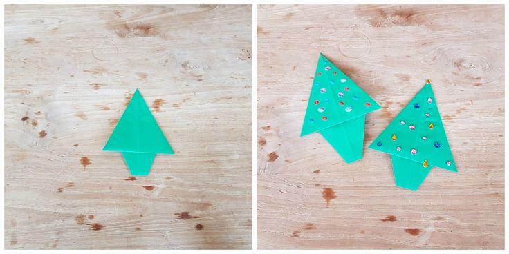 Knutselen met kinderen is heel leuk. Op mijn blog kun je lezen hoe je deze kerstboom maakt. Kan je kindje hem mooi versieren.