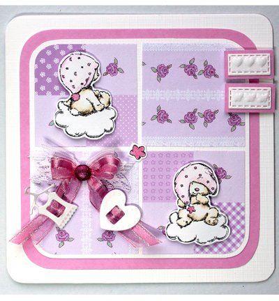 Joy!Crafts Transparent Stempel, Bären Thema: Baby