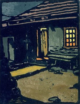 William S. Rice - The Adobe House, c. 1920-1935, San Francisco Museum of Fine Arts.