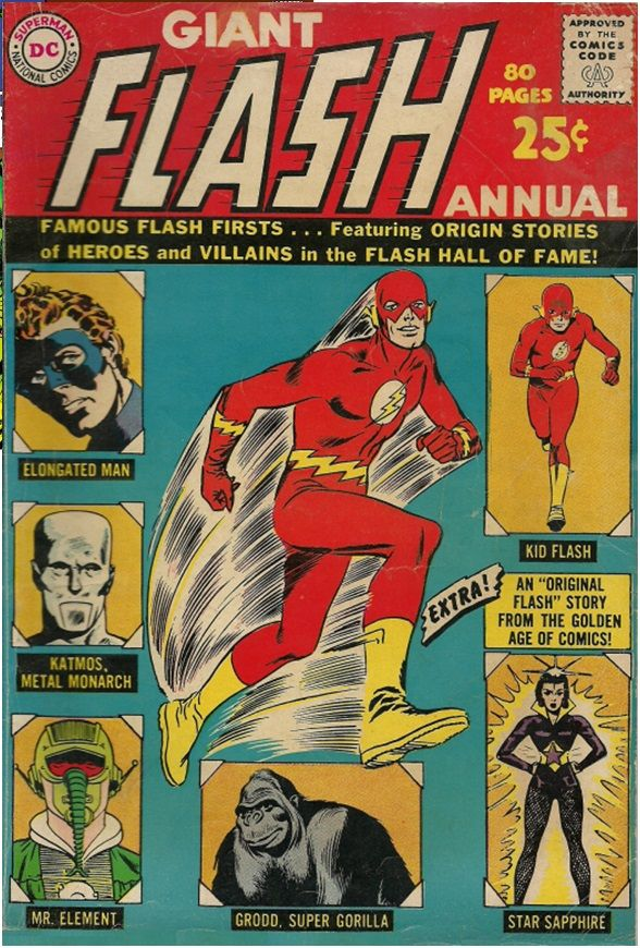 Classic+Comic+Book+Covers   ... Volume 1 #1: Published August 1963, Cover artist: Carmine Infantino