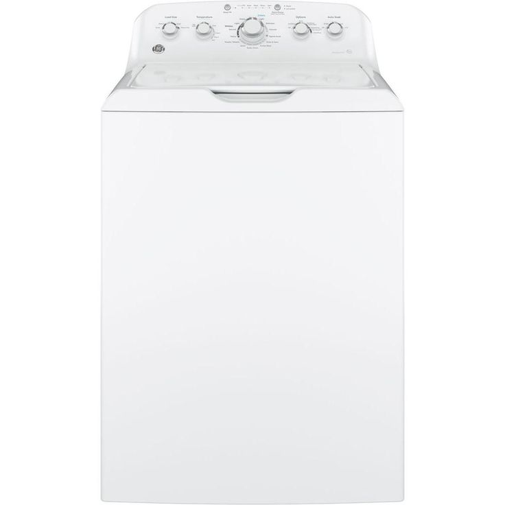 GE 4.2 cu. ft. Top Load Washer in White-GTW460ASJWW - The Home Depot