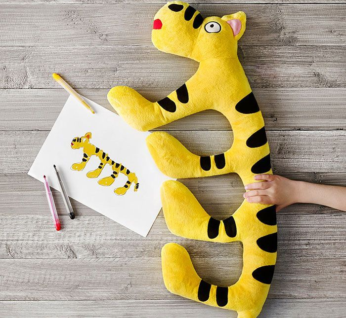 IKEA Turned Children's Drawings Into Real Plush Toys To Raise Money For Charity | Bored Panda