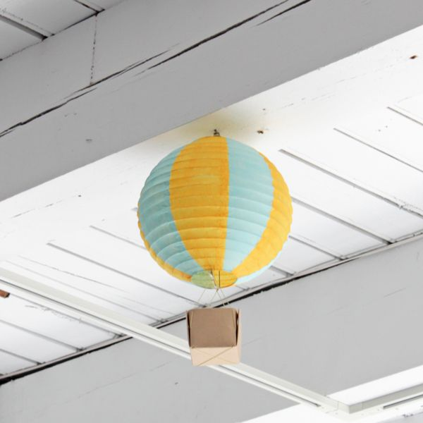 hot air balloon party decorations