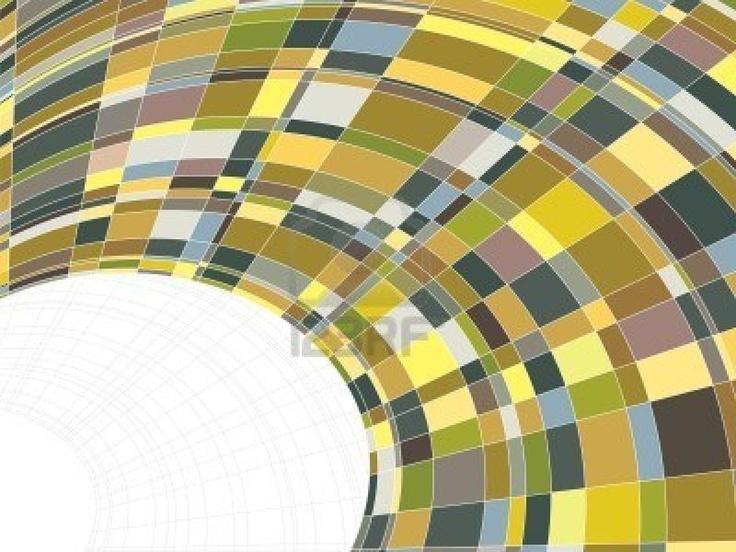Mosaico matriz plazas warp (vector)   Foto de archivo - 2575618