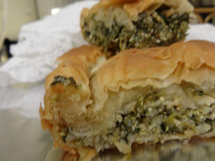 Greek spinach-feta cheese pie