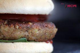 Burger aux lentilles (LE PARFAIT) - Miss-Recipe.com   Traiteur vegan à Québec