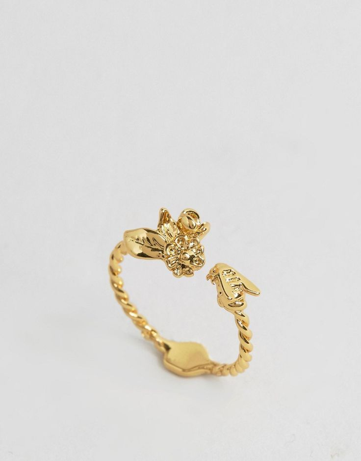 Image 1 of Bill Skinner Mini Floral & Bee Ring